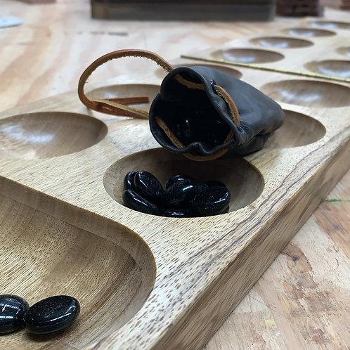 Large Wood Mancala Board