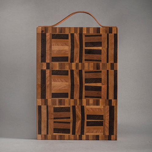 The Colonel - End-Grain Cutting Board