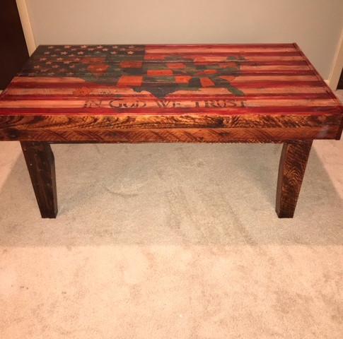 Americana Coffee Table