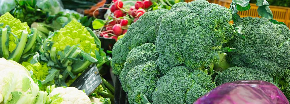 Healthy fresh greens