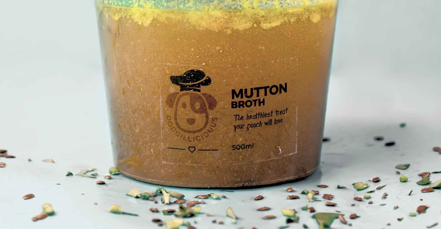 Doggiliciouus Mutton broth