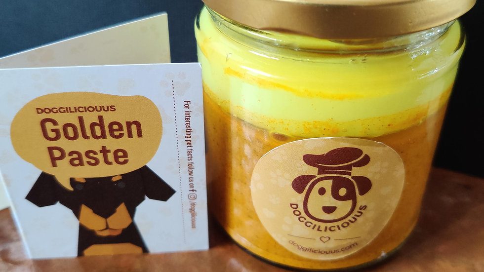 Golden paste