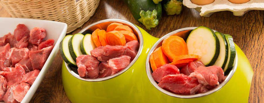 Fresh meat with Fresh vegetables