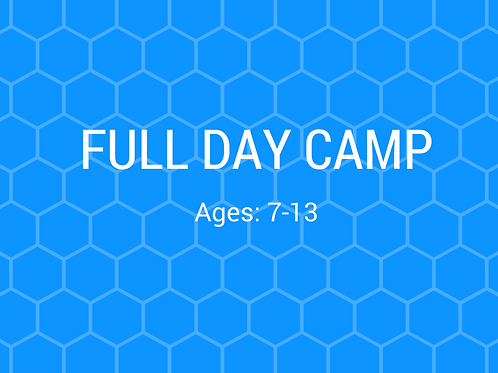2020 Full Day Camp - Session 4 (July 13-17)