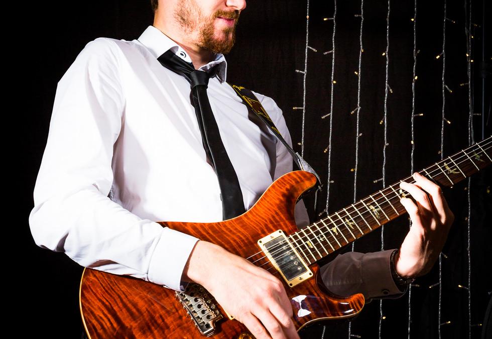 Chris on Guitar