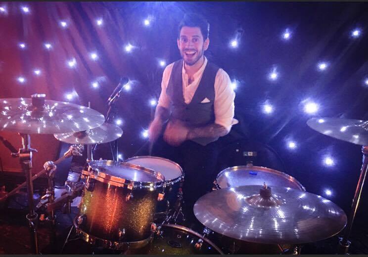 sparkly drummer boy