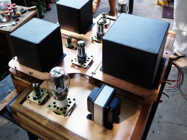 Orpheus 2 tube amplifier