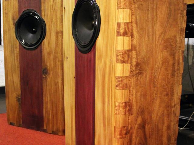 Euridice 2 handcrafted speakers