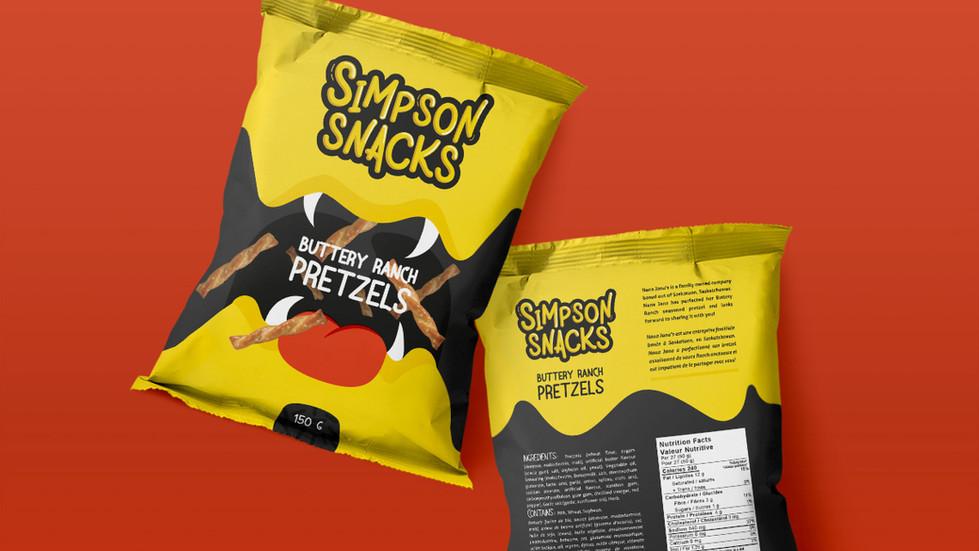 Simpsons Snacks