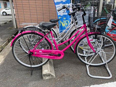 かわいいお子様用の自転車が入荷しています