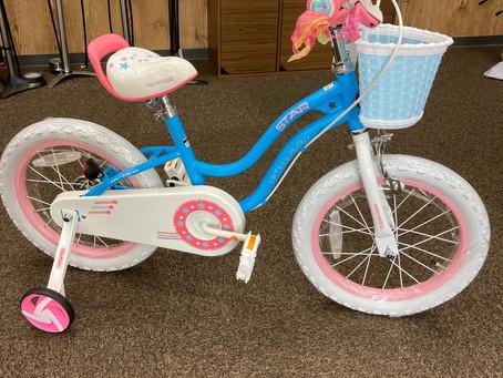かわいい子供用自転車 SterGirl