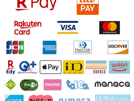 クレジットカード、キャッシュレス決済は使用できますか