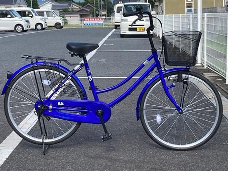 24インチ かわいい自転車ママチャリ