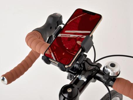 CANNOVER 自転車 スマートフォンホルダー ブラック