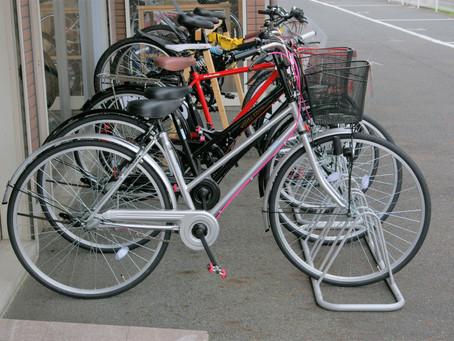 通学自転車をオリジナルにカスタマイズ