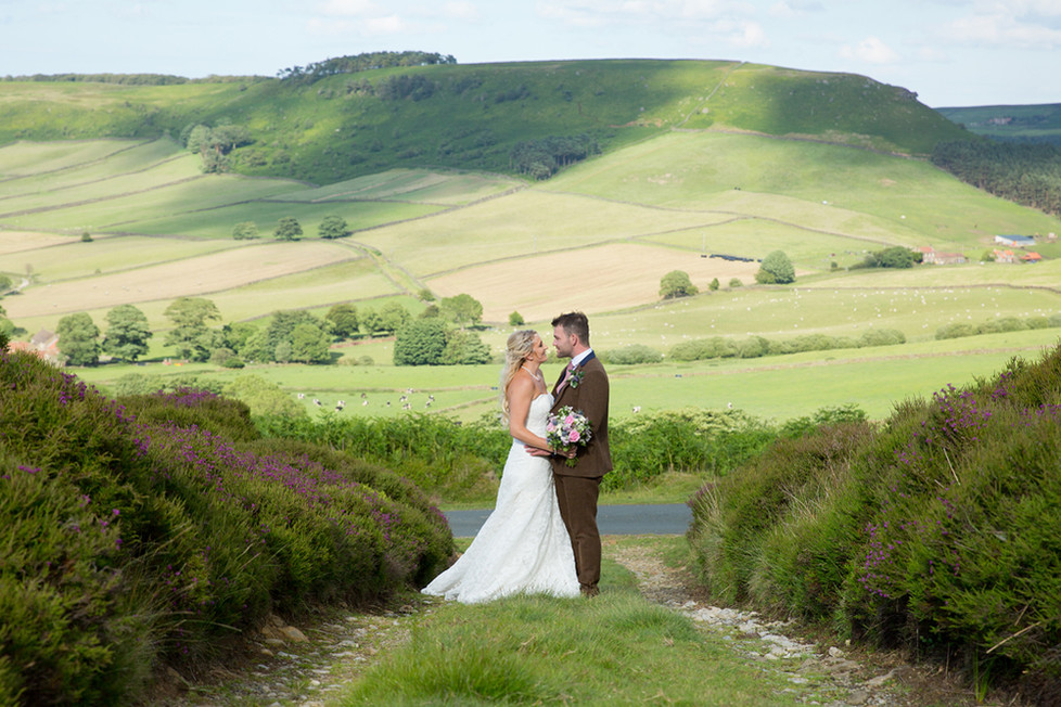 North Yorkshire wedding Photographer, Paul hawkett Photography at Danby Castle in the Esk Valley