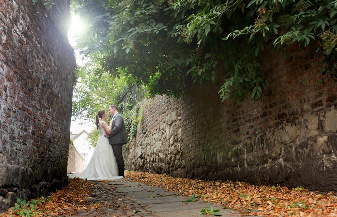 Middletons Hotel In York Wedding Photogr