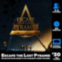 Escape the Lost Pyramid Escape Room Fort Wayne