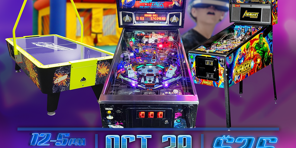Halloween Event at Floyd's Arcade and Pinball
