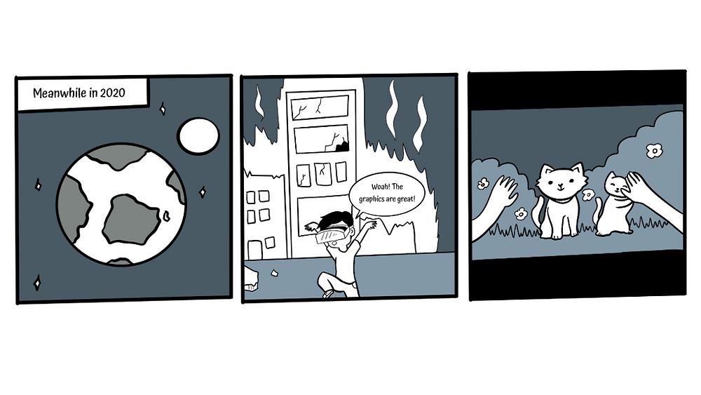 Funny VR Comic