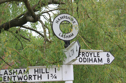Lasham Sign Original
