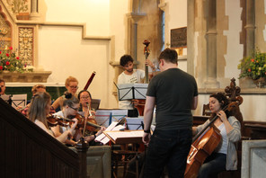 Rehearsals for Mozart Symphony No.41