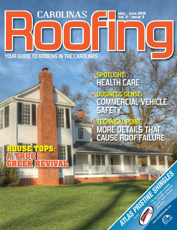 Carolina Roofing - May June 2012
