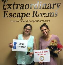 Dognapped escape room September.