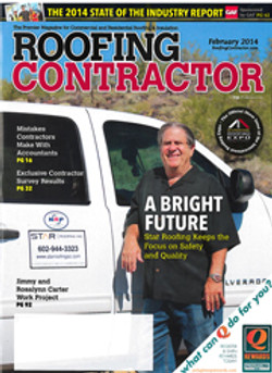 February 2014 Roofing Contractor