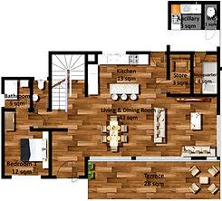 Ground floor detached house Isange estate.jpg