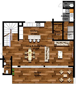Ground floor semi-detached house Isange estate.jpg
