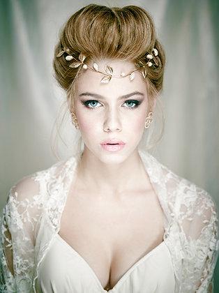 Ivory bridal shawl