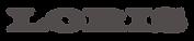 לוגו טקסט LORIS-01.png
