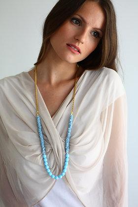 Stone sheer shawl