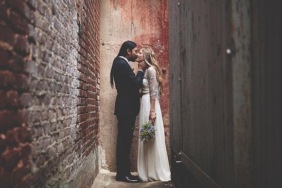 Silver bridal shawl