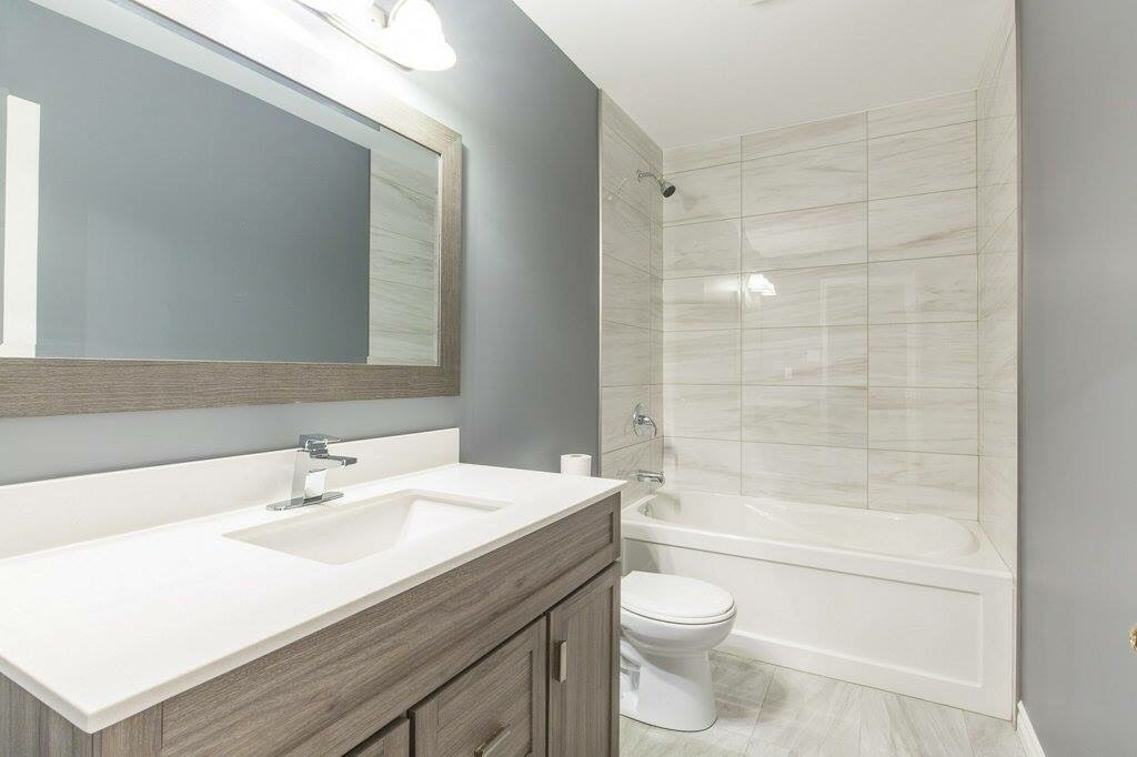 Full bathroom renovation