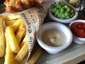 Segundo Melhor Fish&Chips da Vida - Foi na Suíça