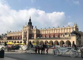 Conheça Kraków em um dia de MUITO FRIO!