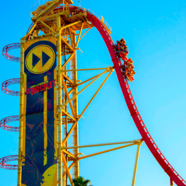 Rockit Roller Coaster