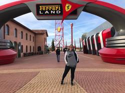 Entrada do Ferrari Land