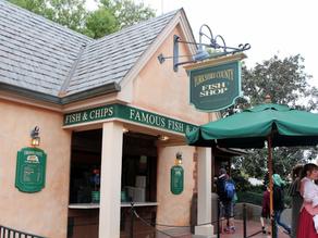 O Melhor Fish and Chips que eu Já Comi, é na Disney!