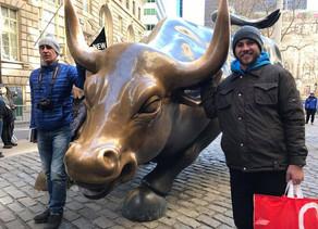 Charging Bull e Wall Street - Mais um ponto turístico de New York
