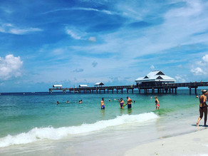 Conheça o Golfo do México - Clearwater Beach
