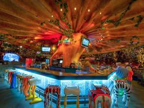Restaurante Rainforest Café em Orlando