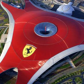 Como é o Ferrari World em Abu Dhabi