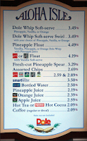 Sorvete de Abacaxi no Aloha Isle (Pineapple Float) - Magic Kingdom
