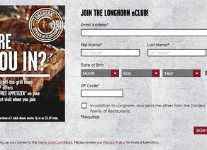 Carol Me Engorda 20 - Longhorn Steakhouse