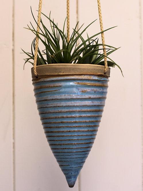 Blue Hanging Planter 6