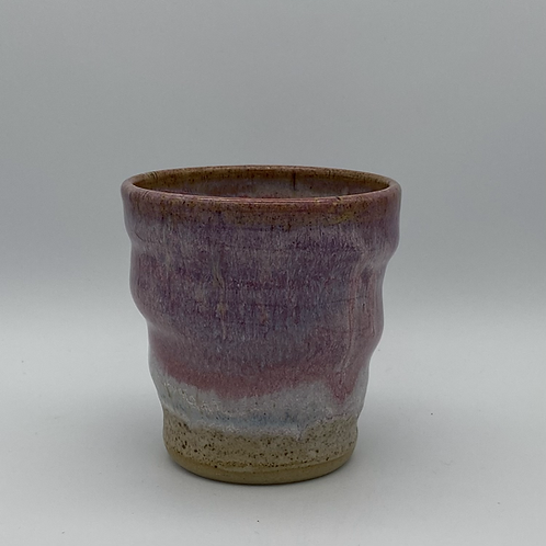 Pink and lavender Gin cup