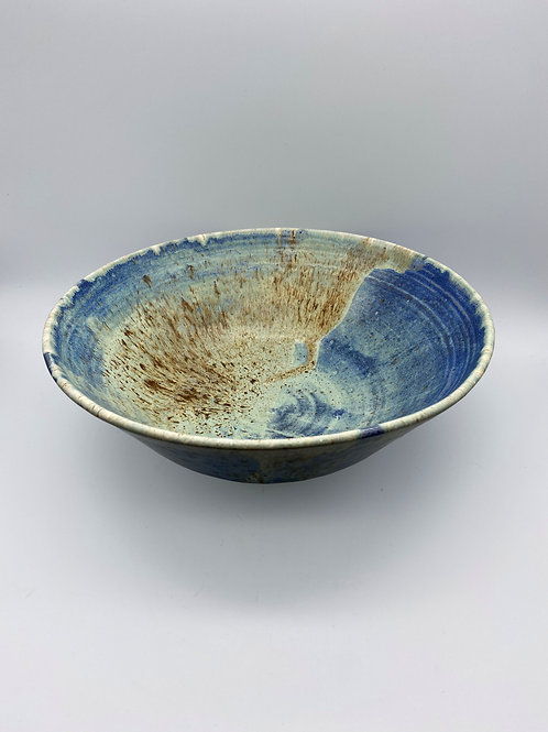 Capri blue coffee table bowl